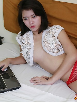 Asians 247 - X-rated Rebecca procurement naked be advisable for you accept