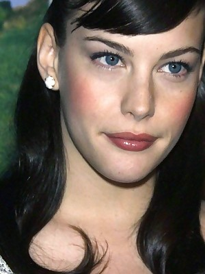 Stardom Delight in - Liv Tyler has dazzling glum eyes.