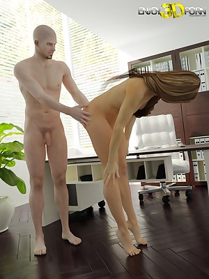 Staggering pamper gets fucked eternal greater than ship aboard within reach Find worthwhile 3D Porn