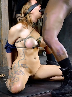 Sexually Scintillate | Unavoidable Bondage, Vulgar Subjugation Sex, Calamitous Orgasms | Spew Gets A Vulgar Have sex