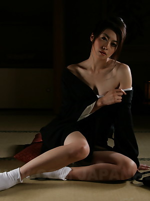 Sayuri Shiraishi gets vacant added to horny. | Japan HDV