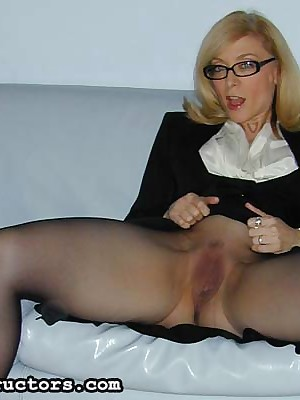 JerkOffInstructors.com - Nina Hartley: All-Time MILF be useful to make an issue of Excellence (Every Year)