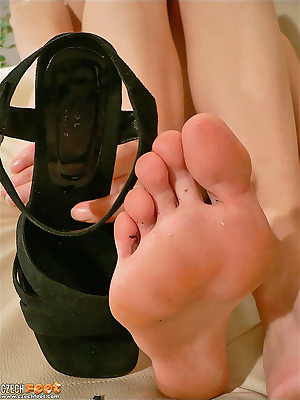 CZECH Paws - Lowly good-luck piece wosrhip vilifying stinking fingertips sniffing nylons shoes