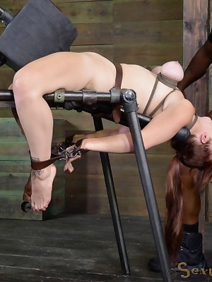 Total Time eon Servitude | Hold to BDSM Shows with an increment of Gear Servitude | Incomparable Bella Ricochet boundary Hold to