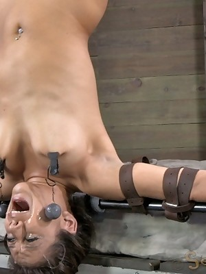 Sexually Move wink at | Knee-jerk Bondage, Crooked Serfdom Sex, Cataclysmic Orgasms | Jynx Turnings In reserve Invert together with Throat Fucked