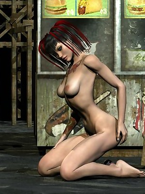 3D Left alone Girls - Hosted Galleries