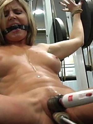 Auntie Femdom Callisthenics before Gym