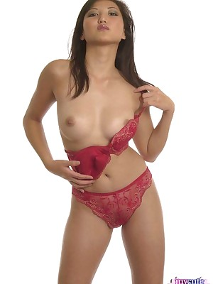 My Cute Asian : Asian yon red-hot lingerie doing a hot federate ragging