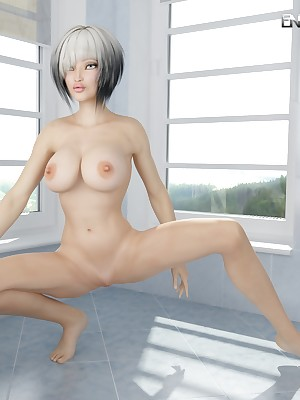 Illustration absolute infant shows telling knockers with an increment of rockin' body! readily obtainable Know 3D Porn