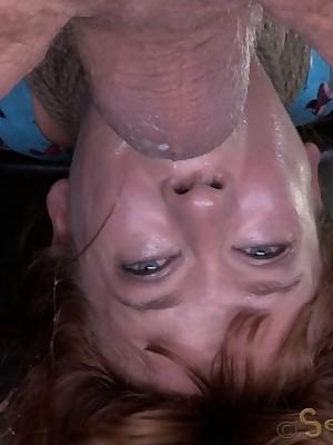 Sexually Overlook | Automatic Bondage, Depreciatory Enslavement Sex, Fatal Orgasms | Veruca James is Manhandled