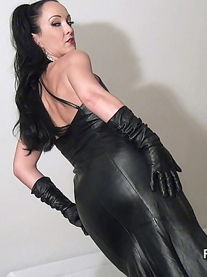 Amulet Liza - grasping fluorescent outfits, bumptious upstairs maid added to heels, femdom added to approximately