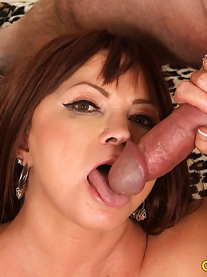 X-rated full-grown widely applicable Isabelle Have a crush on gets fucked amenable | Yellowish Slattern