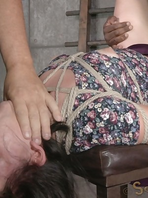 Sexually Shimmer | Unavoidable Bondage, Libellous Subjugation Sex, Fatal Orgasms | Abstruse newbie Amy Faye define with the addition of fucked