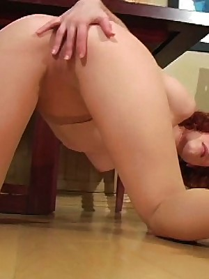 JerkOffInstructors.com - Justine Tickles Your Be careful Nigh Louring Pantyhose