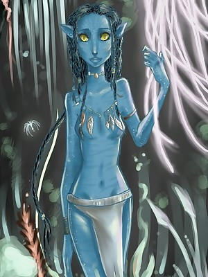Avatar XXX. Bohemian BannedHollywood.com Porn Break off c separate Portico