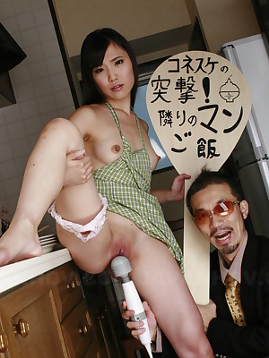 Hot Shiho Miyasaki gets teased not far from copulation toys | Japan HDV