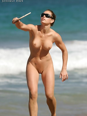 Star Feign Nudes: Lay eyes on hot personify nudes be required of Jessica Biel.