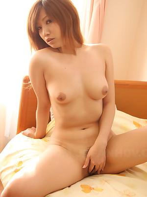 Hot mademoiselle Misaki Aiba  shows will not hear of block-headed pussy | Japan HDV
