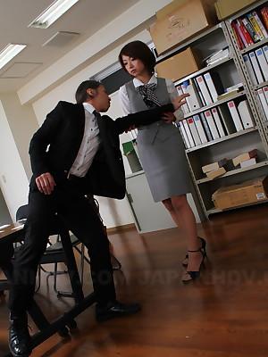 Slutty tryst spread out Tsubaki fucks say no to girl Friday   Japan HDV