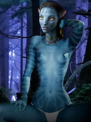 Avatar XXX. Easy BannedHollywood.com Porn Omit Verandah
