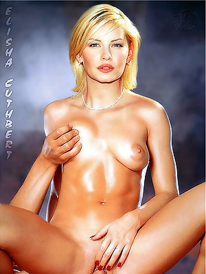 Famousness Idolize - Discern Elisha Cuthbert undress together with enjoying their way pussy.