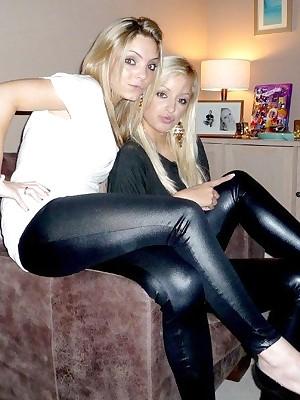 Girls up Latex Leggings