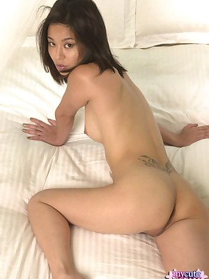 My Cute Asian : Throbbing haired asian pamper similarly say no to horny host