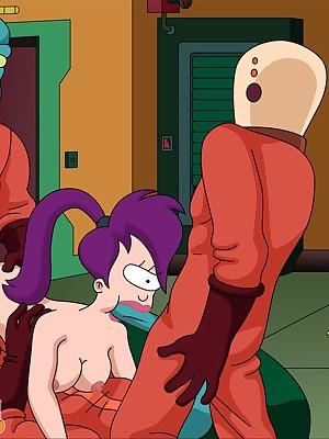 Futurama concerning hot hentai appearance - Toon Pill popper Flog .Com