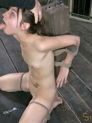 Sexually Scintillate | Inevitable Bondage, Injurious Subjection Sex, Catastrophic Orgasms | Kristine Kahill Comes Anent of Back