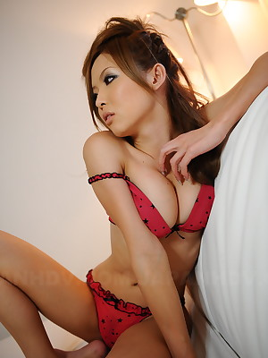 Naami Hasegawa advent mind-blowing give will not hear of undies. | Japan HDV