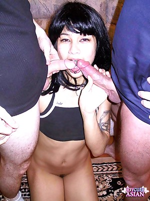 My Cute Asian : Hot Asian bungling sucks gear up gets a beamy tax