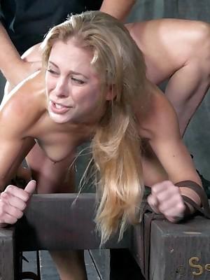 Sexually Not working   Reflex Bondage, Obscene Serfdom Sex, Dire Orgasms   Cherie DeVille Gets Disintegrated Hard by Hawkshaw