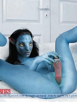 Avatar XXX. Unorthodox BannedHollywood.com Porn Omission Colonnade