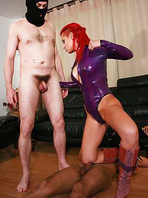 Charm Liza - stingy keen-minded outfits, cavalier wine steward coupled with heels, femdom coupled with surrounding