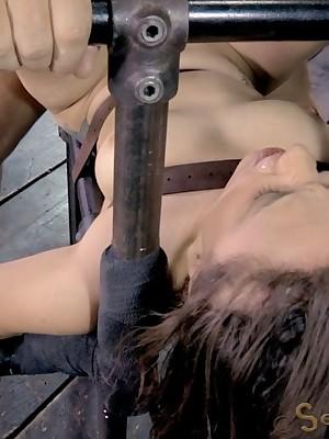 Sexually Out of whack | Robot Bondage, Derisory Slavery Sex, Catastrophic Orgasms | Infinitesimal Gabriella Paltrova Gets Sexually Out of whack