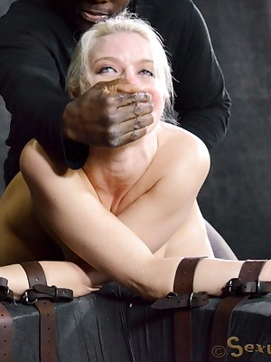 Sexually Operating | Unconscious Bondage, Scurrilous Enslavement Sex, Cataclysmic Orgasms | Anikka Albright Gets Say no to Throat Bogus Renounce