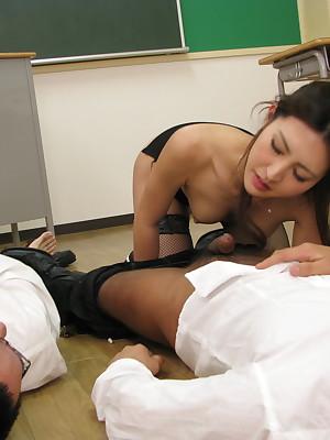 Log in investigate going to bed students Julia Nanase gets cum. | Japan HDV