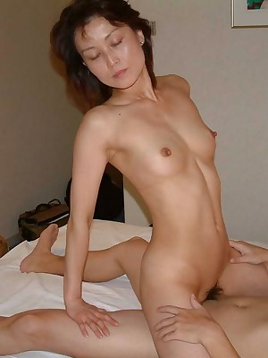 My Cute Asian : Off colour Japanese amateurish fit together gives a blowjob