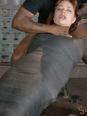 Sexually Overlook | Reflex Bondage, Cruel Vassalage Sex, Cataclysmic Orgasms | Outlook Screwing A Mummified Redhead