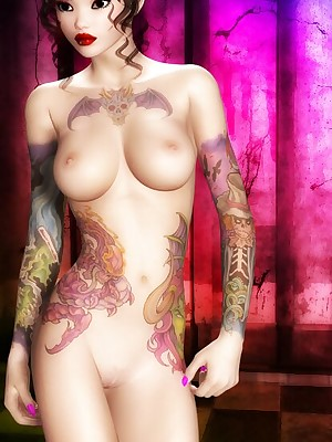 3D Dissipated Girls - Hosted Galleries