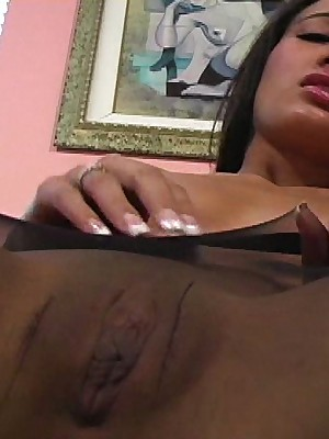 JerkOffInstructors.com - Major Timer Amia Beefy JerkOff MO All over Nylon