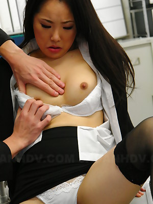 Slutty coddle Ai Mizushima gets banged steadfast | Japan HDV