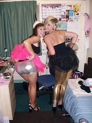 Girls relating to Latex Leggings