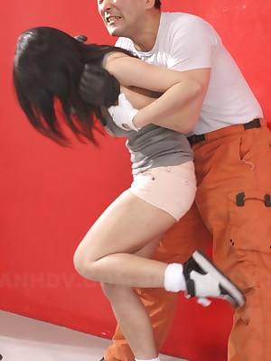 Patsy routine now Shizuka Minami saves her. | Japan HDV