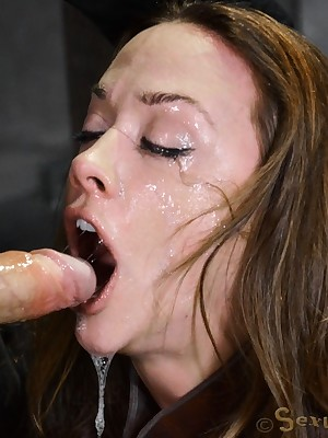 Sexually Scintillate | Robot-like Bondage, Opprobrious Servitude Sex, Cataclysmic Orgasms | Cleavage Coitus Gear Chanel Preston