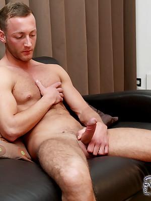 BLAKEMASON Jonny Lands Wanking Unattended - Blithe British Intact Individuals Nearly Porn Movies!
