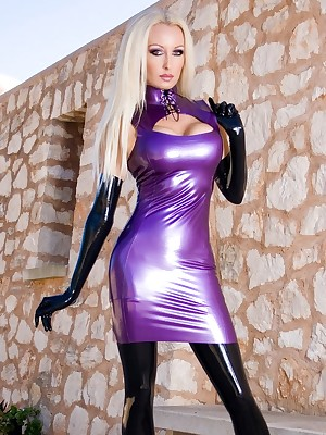 Bohemian Latex Pictures - Purple Latex Cannonade