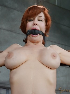 Sexually Flicker | Involuntary Bondage, Insulting Subjugation Sex, Tragic Orgasms | Dazzling leader MILF Veronica Avluv does vituperative drooling deepthroat