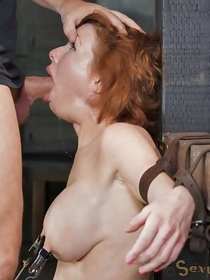 Sexually Flicker | Involuntary Bondage, Insulting Subjugation Sex, Tragic Orgasms | Dazzling leader MILF Veronica Avluv does vituperative drooling deepthroat