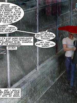 CRAZYXXX3DWORLD Bohemian 3D WESTERN COMIX Galilee #227h